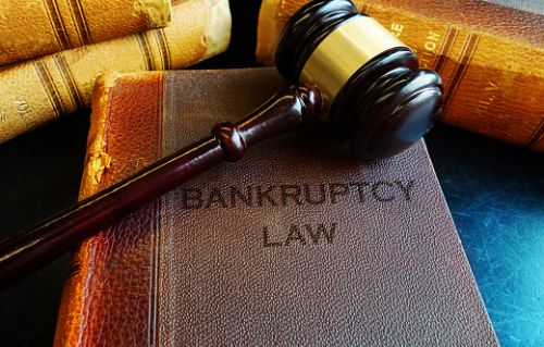 Old Bankruptcy Law Book